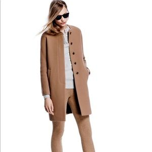 J Crew Double Cloth Sabrina Coat