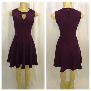 Keyhole Flair Dress