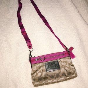 Coach mini crossbag