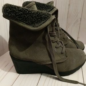 White Mountain Fur Lined Boots
