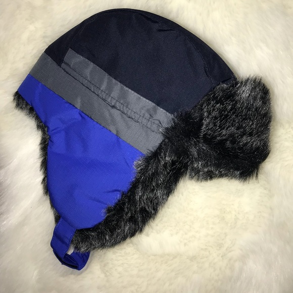 Toddler Boys Winter Hat With Chin Strap d904cb0baf4