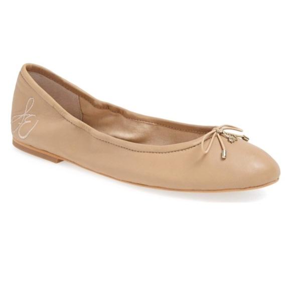 0e64ddee9c57c Sam Edelman Felicia Ballet Flats Classic Nude. M 5a3111b9bcd4a71b62004c9f