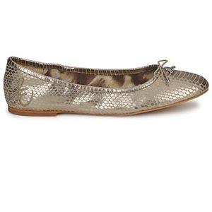 Sam Edelman Felicia Flats - Gold. Great condition!