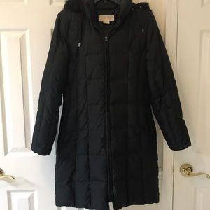 MICHAEL KORS BLACK QUILTED JACKET