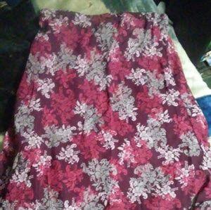 Long skirt size xl
