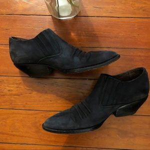 Vintage guess leather booties 6.5