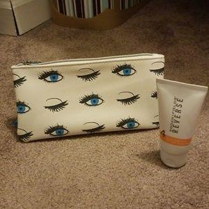 New Rodan & Fields make up bag and sunscreen
