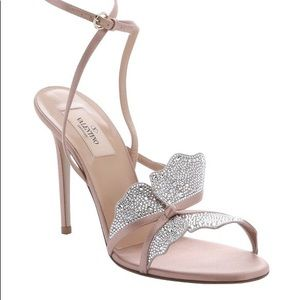 Valentino Satin Embellished Sandals T5-19762