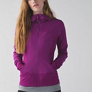 Lululemon Regal Plum -  In Flux Jacket - Size 8