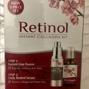 Alluxe instant skin care retinol collagen kit