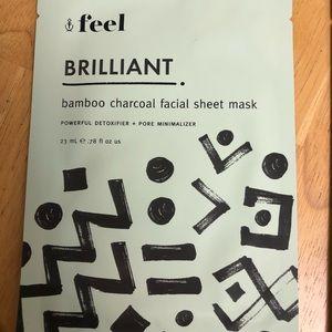 feel brilliant face mask