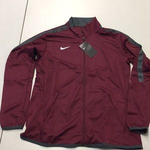 Nike Women's Epic Jacket Large Dark Maroon NWT