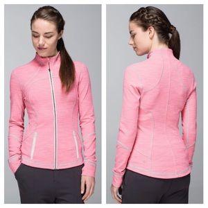 Lululemon Forme Jacket-Pink/Gray, Size 10