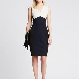 Banana Republic Colorblock Sheath Dress