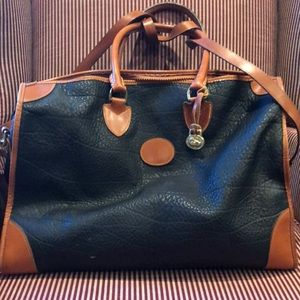 Great pebble grain leather bag by DB.