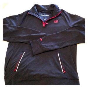 Mens Abercrombie & Fitch 1/2 ZIP pullover XXL NWOT