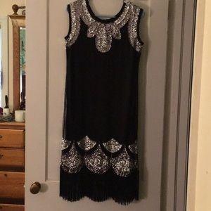 1920s Flapper looking dress
