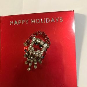 Happy Holidays Pin