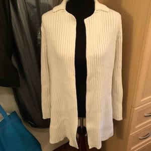 Express white cardigan sweater