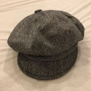 Super cute slouchy hat grey