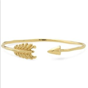 Stella & Dot Gold Arrow Bracelet