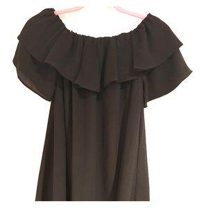 Boohoo Off-the-shoulder Dress