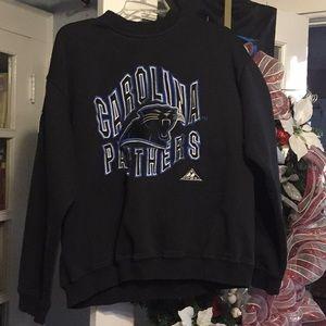 Carolina Panthers sweatshirt in XL