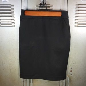 Express Black Pencil Skirt.