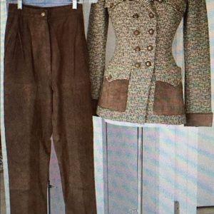 Authentic Chanel pant suit