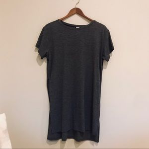 H&M Long Grey Tee