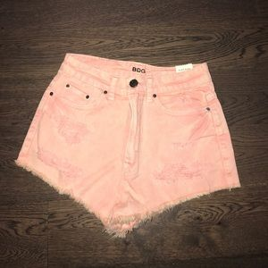 Urban Outfitters BDG pink shorts