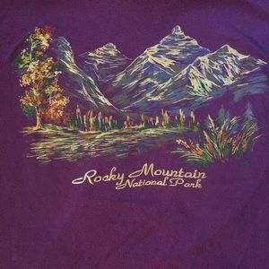 Vintage Rocky Mountain National Park T-Shirt