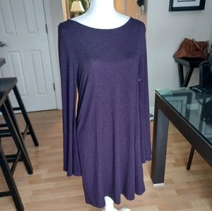 New Express shift dress with accent strap
