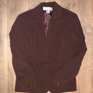 Jones New York brown blazer *incredible!*