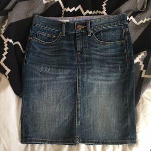 NWOT Gap Denim Pencil Skirt