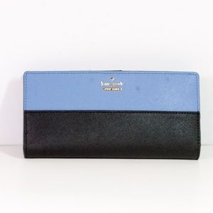 Kate Spade Blue / Black Cameron Street Large Stacy