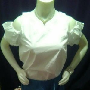 Charlotte Russe White shirt In Time for Christmas