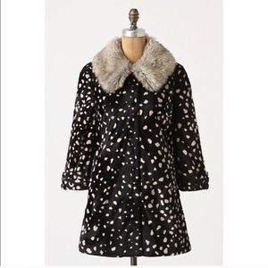 RARE elevenses draconid coat anthropologie