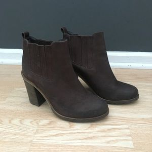 Steve Madden Brown Suede Ryland Booties Size 7.5