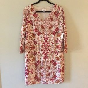 Old Navy Floral Shift Dress NWT