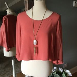 Layering blouse from Forever21