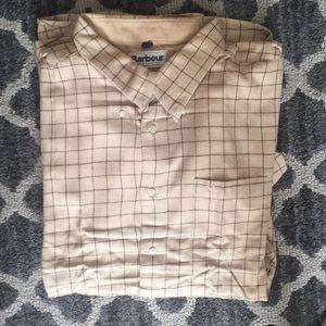 EUC Barbour Long sleeve button down shirt