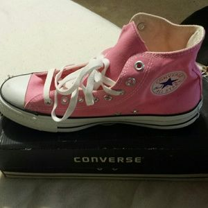 Pink  HighTop Converse