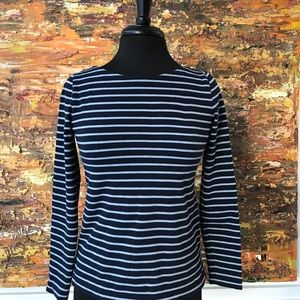 J Crew Long Sleeve Shell Sz Xxs