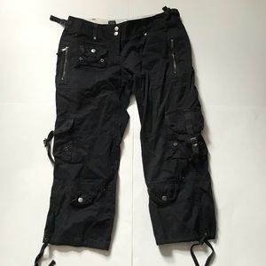 The Limited Size 2 Cargo Capris in Black!