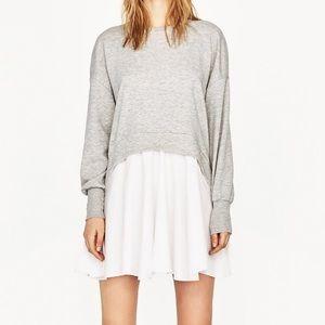 Zara Sweatshirt Dress