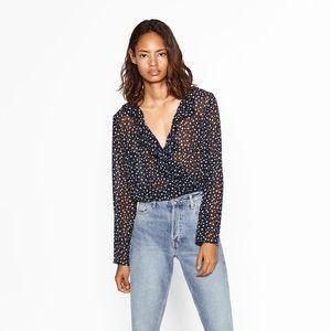 Zara bodysuit longsleeve
