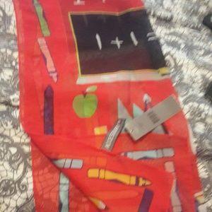 Nwt  teachers scarf XMAS IDEA