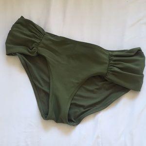 Aerie bathing suit botttom swim hipster Med