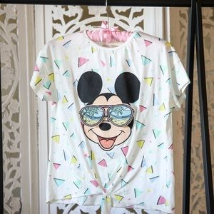 Mickey Mouse Sunglasses Tee (S)